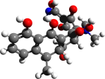 Doxycycline 3D structure. 