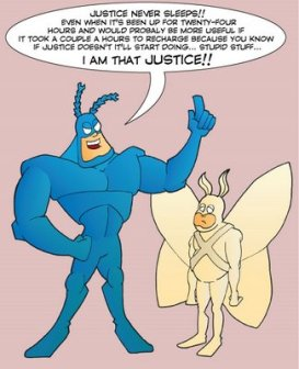 the tick cartoon